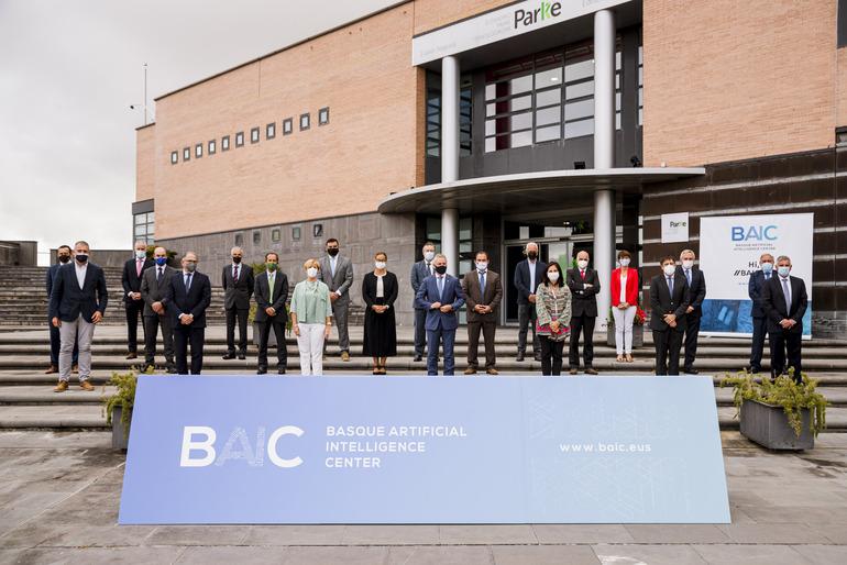 17 entidades han constituido la Asociación BAIC, el Centro Vasco de Inteligencia Artificial